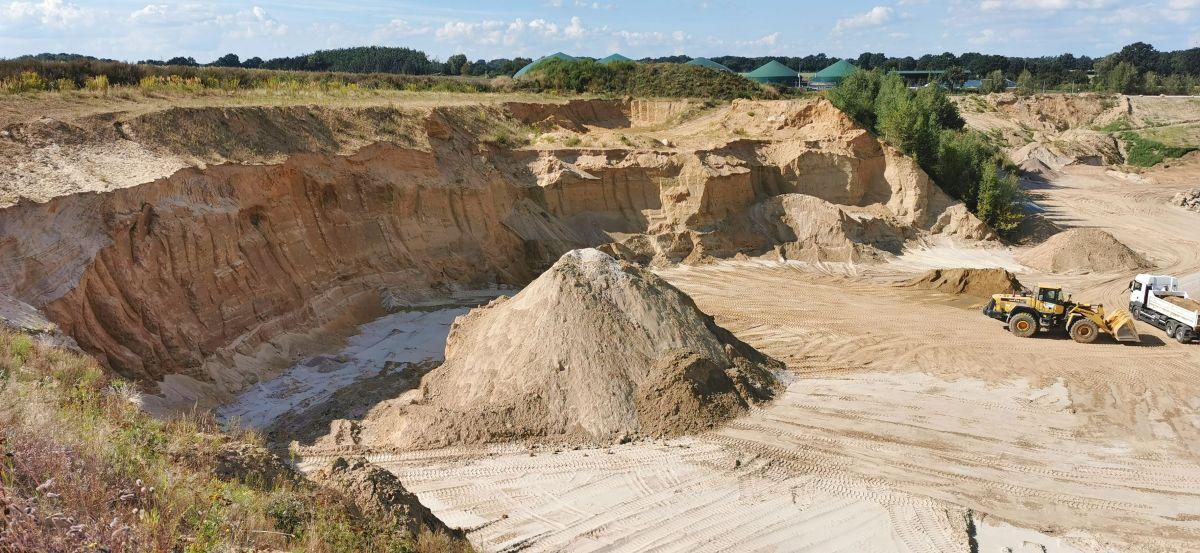 Sand-Meyer, Buxtehude, Kiesgruben, Baustoffe